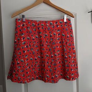 Draper James floral skirt